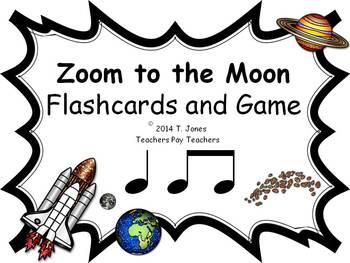 Zoom to the Moon ta ti-ti (Music: Rhythm Concept Game)