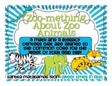 Zoomething About Zoo Animals Common Core Math and Literacy Centers