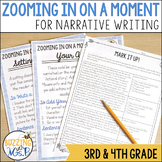 Zooming in on Small Moments Narrative Writing Mini-lessons Unit