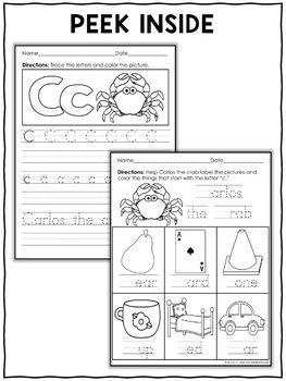 Zoo Alphabet Worksheets