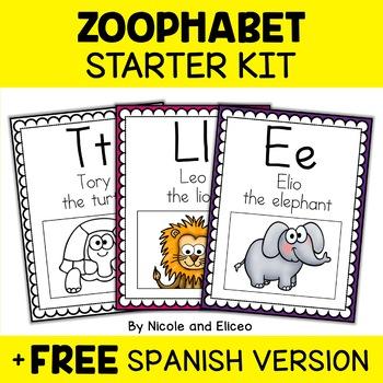 Zoo Alphabet Posters