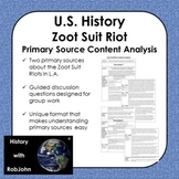 Zoot Suit Riot Content Analysis
