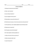 Zootopia Movie Questions with ANSWERS   MOVIE GUIDE Worksheet (2016)
