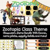 Zootopia Classroom Theme