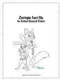 Zootopia Fact File: An Animal Research Project