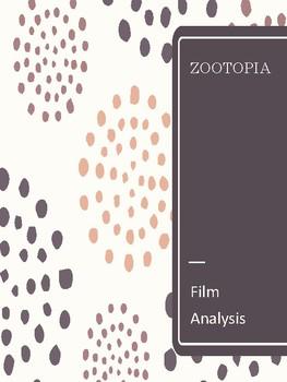 Zootopia Film Analysis