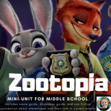 Zootopia Movie Guide & Stereotypes Discussion