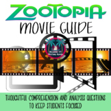 Zootopia Movie Guide for Big Kids