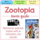 Zootopia Movie Packet