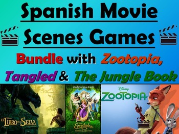 Zootopia Tangled And The Jungle Book Spanish Movie Games Bundle