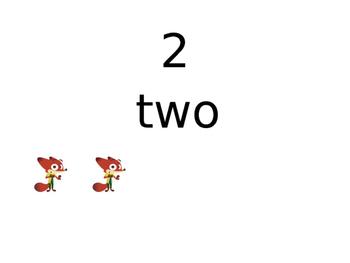 Zootopia numbers 1-20