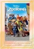 Zootopia workbook (17 various tasks)