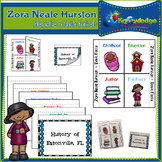 Zora Neale Hurston Interactive Foldable Booklets - Black History Month