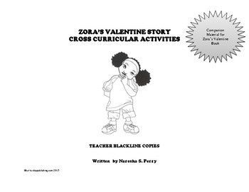 Zora's Valentine Cross Curricular Activities
