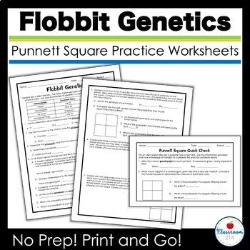 Zorks Punnett Square Practice by Classroom 214 | TpT