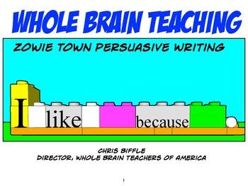 Zowie Town Persuasive Writing