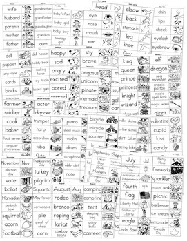 Zp Strip Vocabulary and Spelling Skill Builder