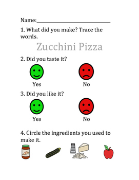 Cooking Group - Zucchini Pizza Bites