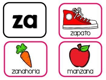 Zumbando con sílabas de z – Spanish Phonics Practice for za, zo, zu