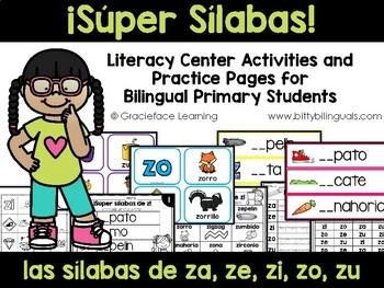 Zumbando con sílabas de z – Spanish Phonics Practice for z