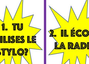 Zut Alors!  French Direct Object pronouns game