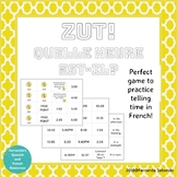 Zut! Game to review how to tell time in French!