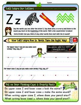 Zz Worksheet