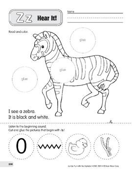 Zz: Zebra, Zipper