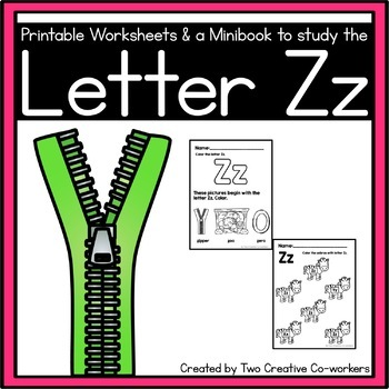 Letter Z { Alphabet Practice }