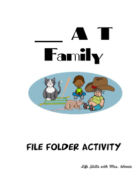 _AT family file folder activity (cvc words)
