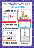 '_LK WORDS' Phonics Lesson Package