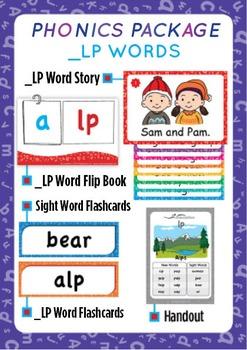 '_LP WORDS' Phonics Lesson Package