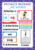 '_NG WORDS' Phonics Lesson Package