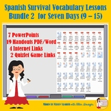 301 Spanish Lessons for Survival Vocabulary 90% TL _ TCI B