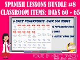 308 Spanish Lessons for 90% TL and TCI Bundle 8 - Days 60