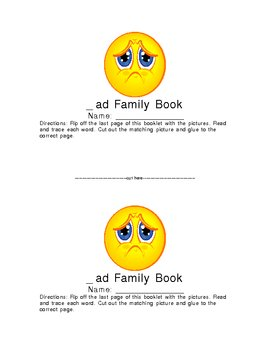 _ad Family Word Book