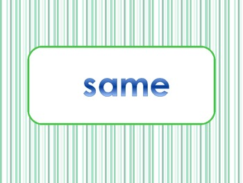 _ame Word Family PowerPoint  for K, 1st or 2nd Reading Phonics(Common Core)
