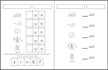 _un Word Family pack