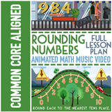 ROUNDING NUMBERS: Rounding To The Nearest 10 & 100 ★ Fun R