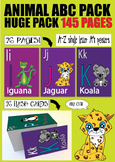 Cute ABC Animals - posters, work sheets, games and much more!