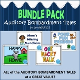 a Bundle of Auditory Bombardment Tales (articulation therapy)