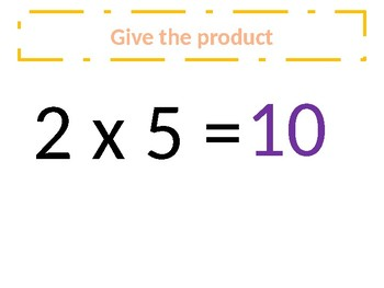a. Common Core – Multiplication of 0 - 6s - Around the world