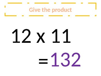a. Common Core – Multiplication of 11s - Around the world