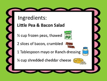 a Little Pea & Bacon Salad recipe