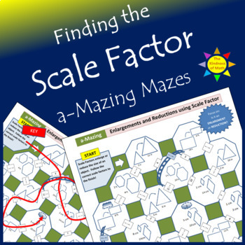 a-Mazing Maze:  Calculating Scale Factor