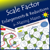 a-Mazing Maze:  Scale Factor - Enlargements and Reductions