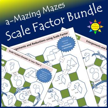 a-Mazing Mazes Scale Factor Bundle