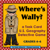 a U.S. GEOGRAPHY GAME • WHERE'S WALLY? • GRADES 4–6