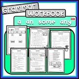 a an some any - grammar workbook