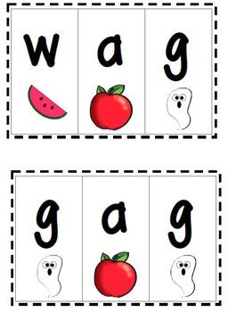 /a/ blending CVC cards
